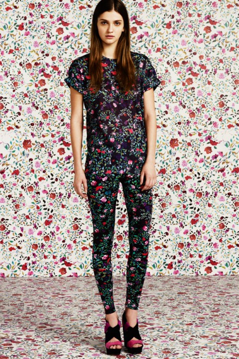 Mary Katrantzou for Topshop - fashion pictures - marie claire