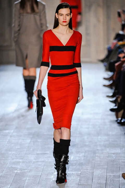 Victoria Beckham Autumn Winter 2012 Catwalk Show New York Fashion Week