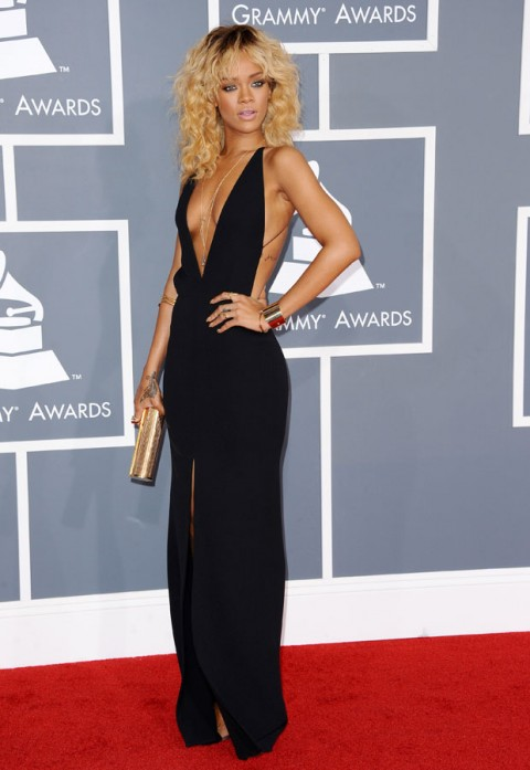 Rihanna - Grammy Awards 2012 - Marie Claire - Marie Claire UK