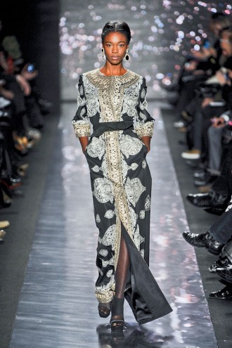 Naeem Khan A/W 2012, new york fashion week, marie claire, marie claire uk