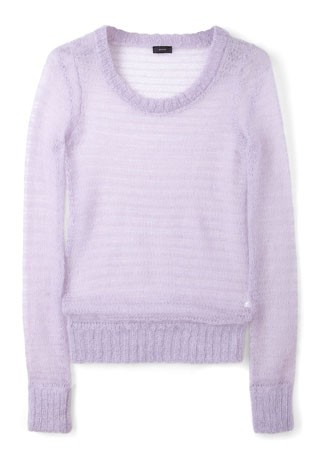 Joseph mohair knitted jumper, &pound;185 - pastels - spring/summer 2012 trends 