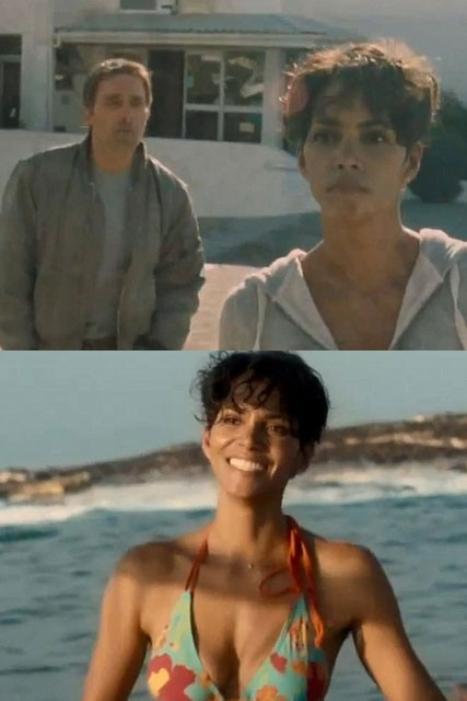 Halle Berry and Olivier Martinez - Dark Tide - Marie Claire - Marie Claire UK