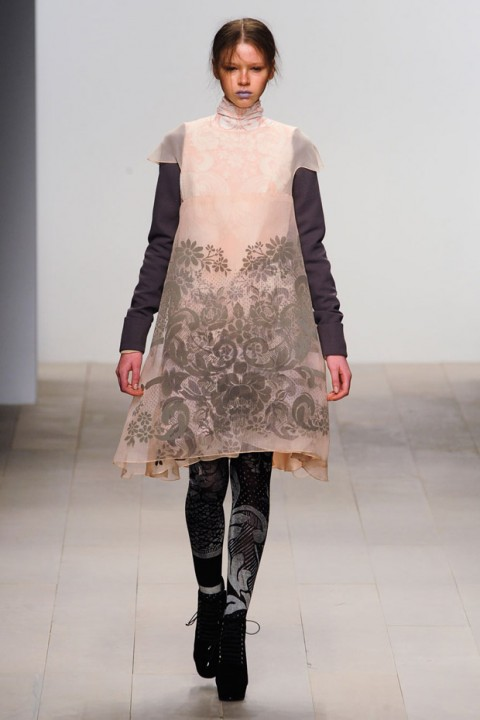 Bora Aksu Autumn Winter 2012 Catwalk Show