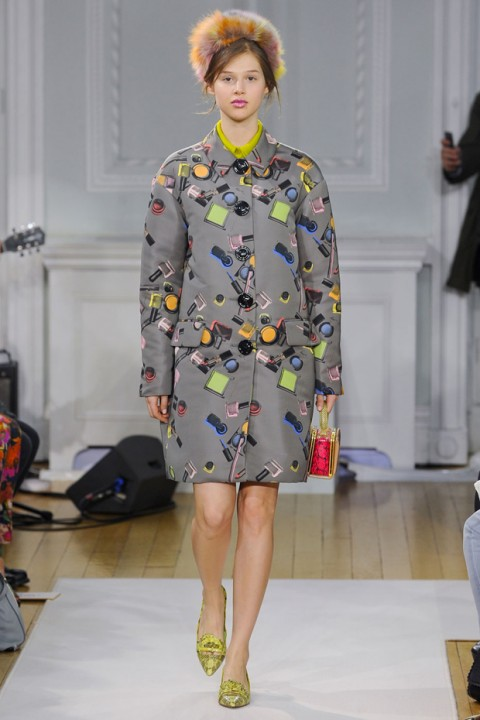 Moschino Cheap and Chic A/W'12, Moschino Cheap and Chic, Moschino, Moschino Cheap and Chic LFW, Moschino Cheap and Chic London Fashion week, London Fashion Week, London Fashion Week 2012, LFW 2012, London Fashion Week 12, London Fashion Week shows, London Fashion Week catwalk