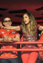Jennifer Lopez and Casper Smart - Rio Carnival 2012 Pictures - Marie Claire - Marie Claire UK