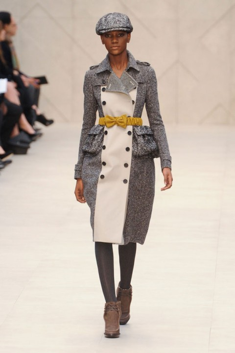 Burberry Prorsum A/W 2012, burberry prorsum, christopher bailey, london fashion week, marie claire, marie claire uk