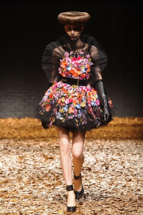 McQ A/W 2012, mcq, alexander mcqueen, sarah burton, london fashion week, marie claire, marie claire uk