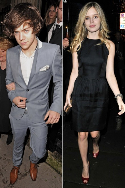 Harry Styles & Georgia May Jagger - Harry Styles - Georgia May Jagger - Marie Claire - Marie Claire UK