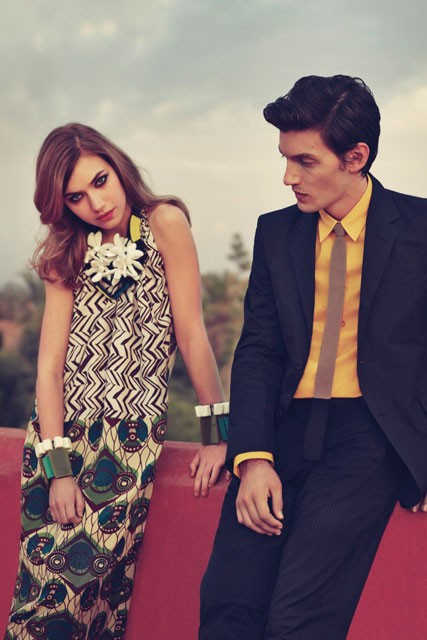 Marni for H&M - spring/summer 2012 collection - fashion pictures - marie claire