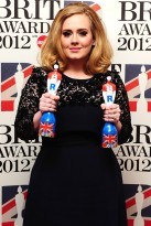 Adele - The Brit Awards 2012 - Brit Awards 2012: Winners list - Brit Awards Winners - Brit Awards - The Brits - Brit Awards Winners - Marie Claire - Marie Claire UK