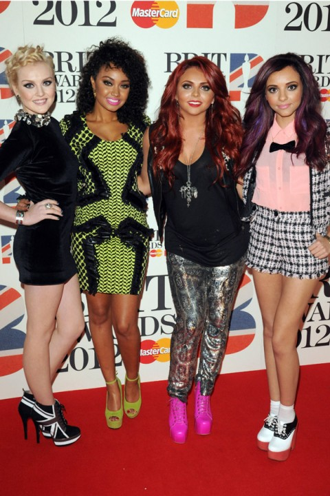 Little Mix - The Brit Awards 2012 - Brit Awards - Brits - Brit Award Winners - Marie Claire - Marie Claire UK
