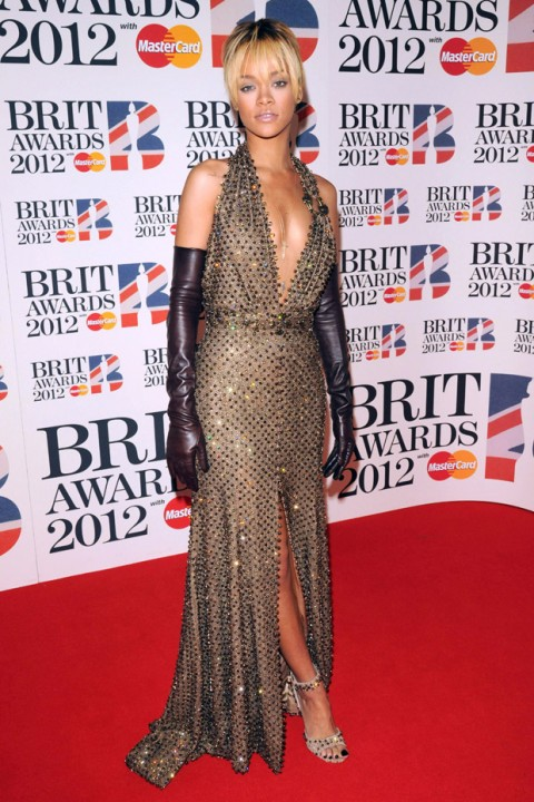 Rihanna - The Brit Awards 2012 - Brit Awards - Brits - Brit Award Winners - Marie Claire - Marie Claire UK