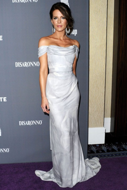 Kate Beckinsale at the Costume Designers Guild Awards 2012 - red carpet pictures - fashion - marie claire