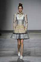 Mary Katrantzou A/W 2012, mary katrantzou, london fashion week, marie claire, marie claire uk