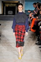 Roksanda Ilincic A/W 2012, roksanda ilincic, london fashion week, marie claire, marie claire uk