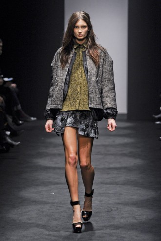 No. 21 A/W 2012, no. 21, Alessandro Dell'Acqua, milan fashion week, marie claire, marie claire uk