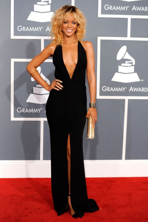 Rihanna at the Grammys 2012