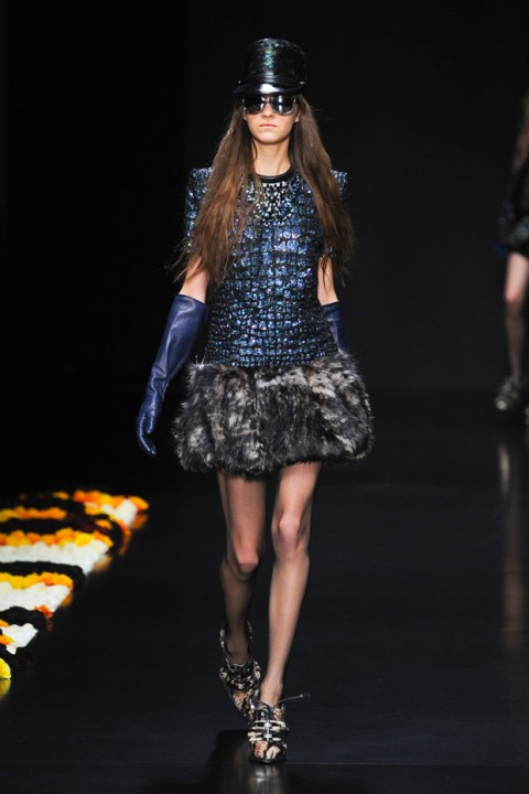 Roberto Cavalli A/W 2012, roberto cavalli, milan fashion week, marie claire, marie claire uk