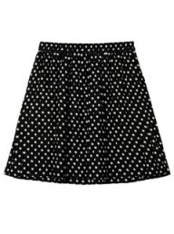 Monki polka dot skirt