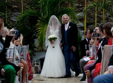 Holly & Richard Branson - Holly Branson's Wedding Album - Holly Branson - Holly Branson Wedding - Marie Claire - Marie Claire UK