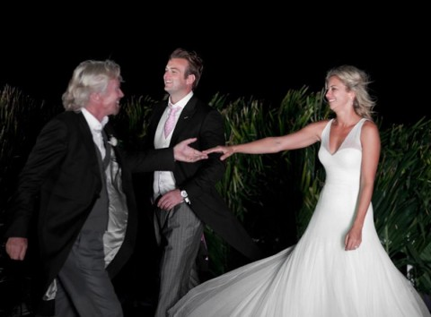 Richard Branson & Holly Branson - Holly Branson's Wedding Album - Holly Branson - Holly Branson Wedding - Marie Claire - Marie Claire UK