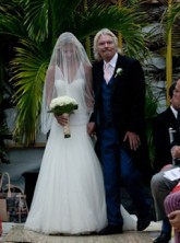 Richard & Holly Branson - Holly Branson's Wedding Album - Holly Branson - Holly Branson Wedding - Marie Claire - Marie Claire UK