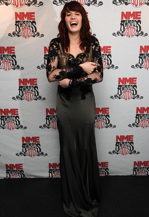 Florence Welch - NME Awards 2012 - Marie Claire - Marie Claire UK