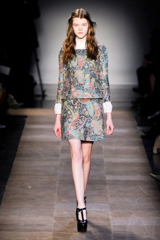 Carven A/W 2012, carven, guillaume henry, paris fashion week, marie claire, marie claire uk