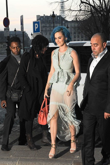Katy Perry - Paris Fashion Week - Marie Claire - Marie Claire UK