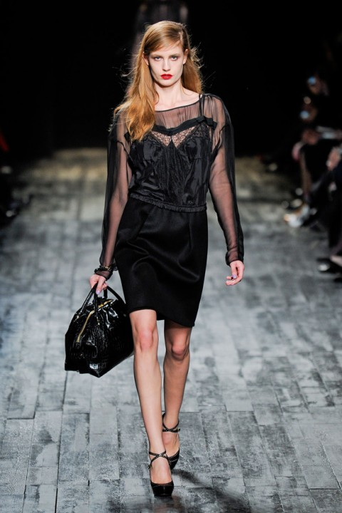 Nina Ricci A/W 2012, nina ricci, peter copping, marie claire, marie claire uk, paris fashion week