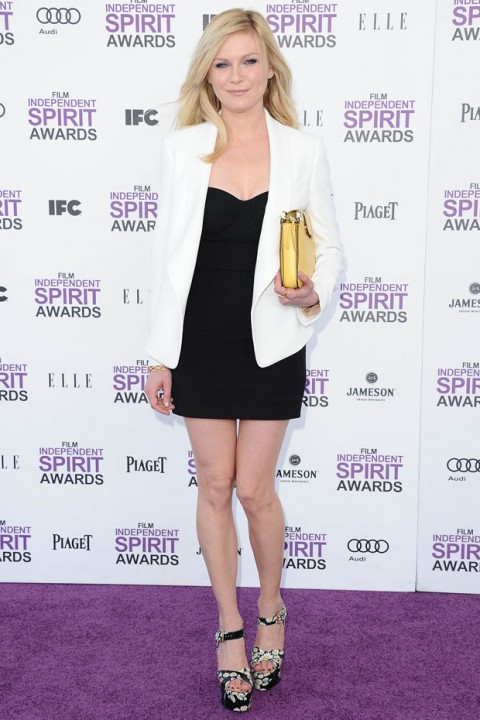 Kirsten Dunst at the Independent Spirit Awards in Los Angeles