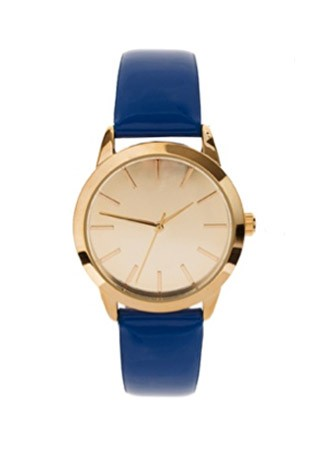 ASOS Patent colour watch, £25 - 60 Best Spring Accessories - Spring Accessories - Marie Claire - Marie Claire UK