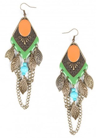 Missguided Henrin tribal drop earrings, £5.99 - 60 Best Spring Accessories - Spring Accessories - Marie Claire - Marie Claire UK