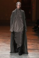 Rick Owens A/W 2012, rick owens, paris fashion week, marie claire, marie claire uk