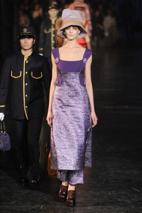 Louis Vuitton A/W 2012, louis vuitton, marc jacobs, paris fashion week, marie claire, marie claire uk