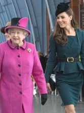 Kate Middleton and The Queen - Diamond Jubilee 2012 - Marie Claire - Marie Claire UK