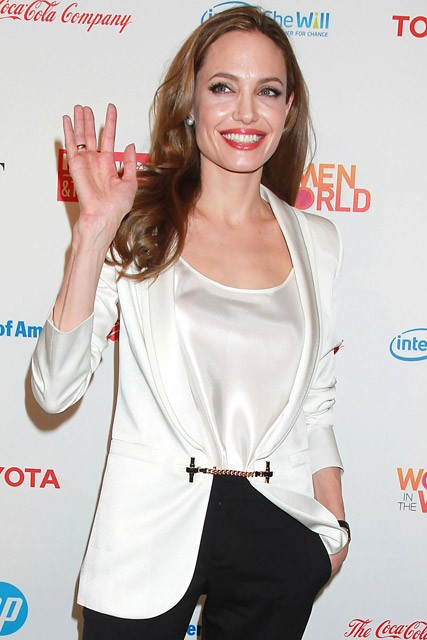 Angelina Jolie - Women In the World Symposium - Marie Claire - Marie Claire UK