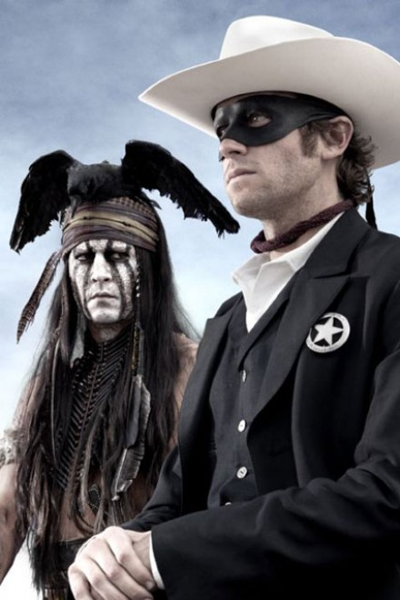 Johnny Depp Lone Ranger - Marie Claire - Marie Claire UK