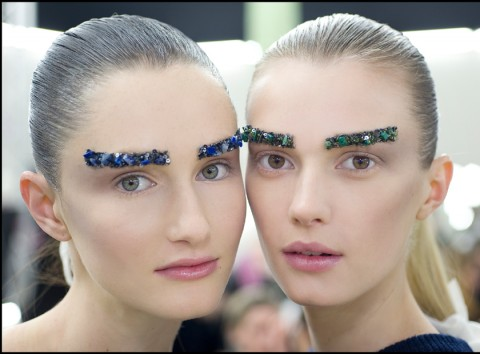 Chanel A/W 2012, chanel, backstage beauty, paris fashion week, marie claire, marie claire uk