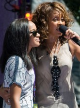 Whitney Houston and Bobbi Kristina - Marie Claire - Marie Claire UK