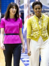 Samantha Cameron and Michelle Obama - Marie Claire - Marie Claire UK