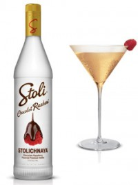 Stoli vodka cocktail