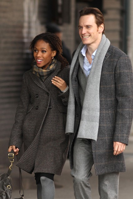Michael Fassbender and Nicole Beharie dating? Michael Fassbender, Michael Fassbender career, Michael Fassbender films, Nicole Beharie, Shame, Shame movie, Steve McQueen, new celebrity relationships, Zoe Kravitz, Michael Fassbender girlfriend, Haywire