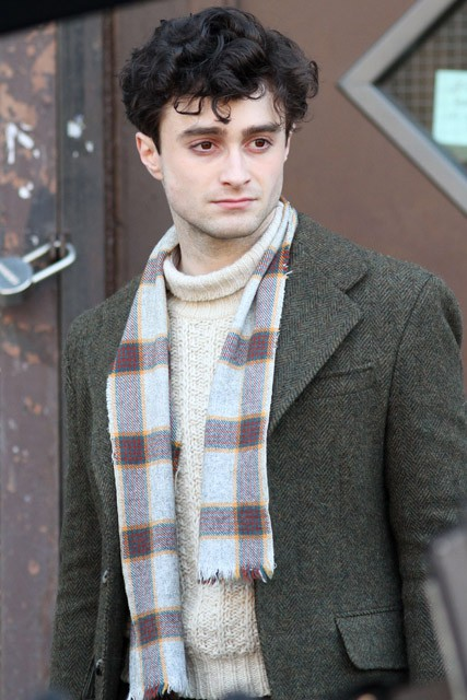 Daniel Radcliffe - FIRST LOOK! Daniel Radcliffe's Dramatic movie makeover - Allen Ginsberg - Marie Claire - Marie Claire UK
