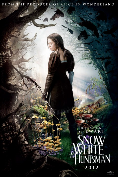Snow White and the Huntsman movie photos - Snow White - Snow White and the Huntsman - Kristen Stewart - Marie Claire - Marie Claire UK