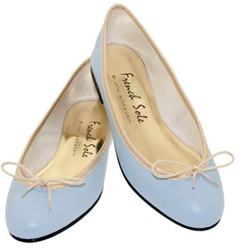 French Sole ballet pumps, £82 - spring shoes - spring footwear - accessories - fashion - shopping