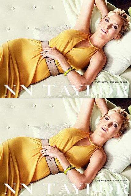 Kate Hudson for Ann Taylor spring/summer 2012 - fashion campaign - fashion pictures