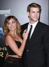 Miley Cyrus and Liam Hemsworth engaged - engagement ring - rumours - celebrity gossip