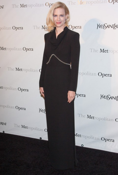 January Jones - Metropolitan Opera Manon premiere - Marie Claire - Marie Claire UK