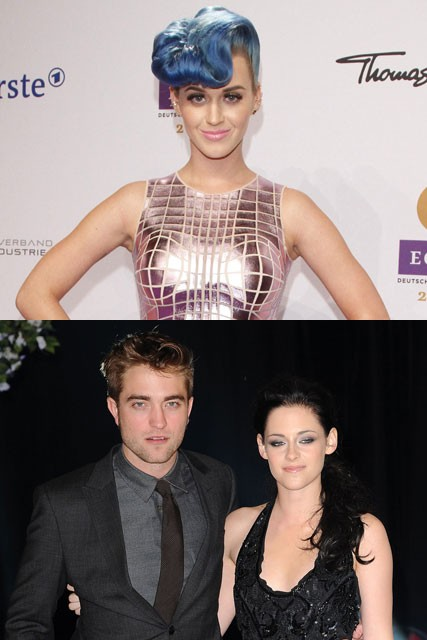 Katy Perry, Robert Pattinson and Kristen Stewart - Marie Claire - Marie Claire UK